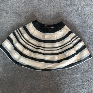 Bebe Fit and Flare Mini Skirt
